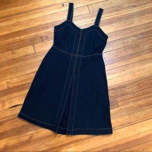 INC dark denim mini dress. Size 4